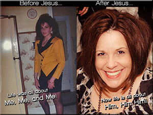 Before and After My Encounter With Christ…